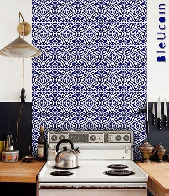 Best Portugal Terracotta Tile Wall Stair Floor Vinyl Decal 640 x 480
