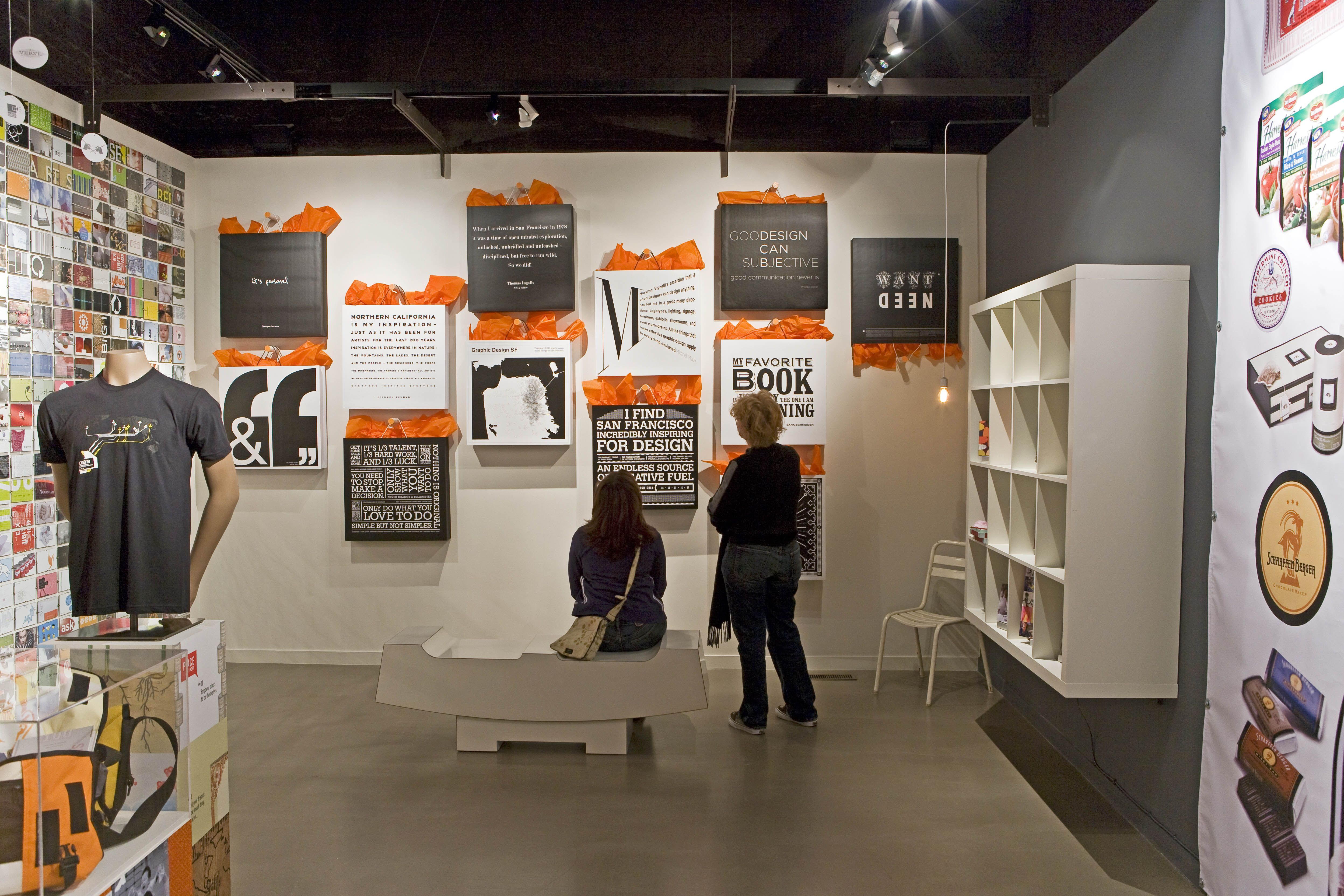 San Francisco Graphic Design exhibit at the Museum of Craft and