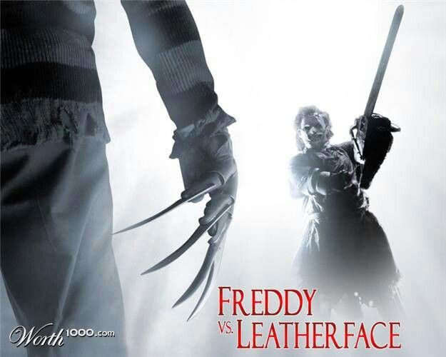 Freddy Vs Leatherface Leatherface Horror Movie Posters Horror