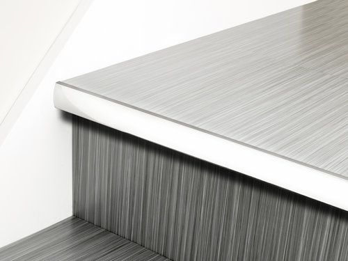 High Quality The Premier Little Nose Has Been Designed As An Attractive Small Stair  Nosing For Use Where The Stair Case Has A Covering Of LVT Applied.