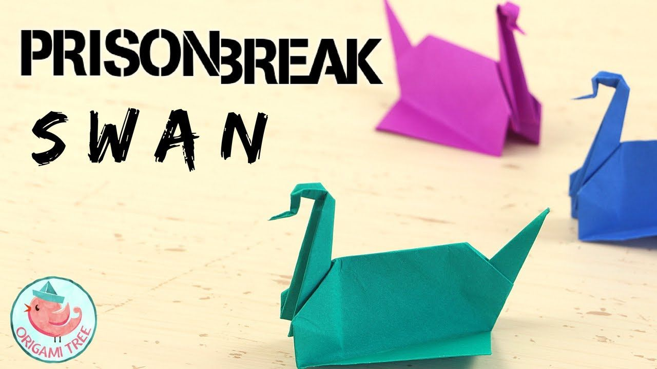 Step By Step Instructions How To Make Origami A Swan. Royalty Free ... | 720x1280