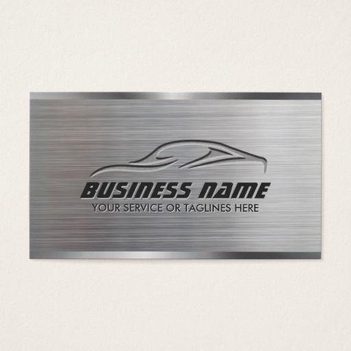 Auto repair professional car metallic automotive business card auto repair professional car metallic automotive business card reheart Gallery