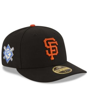 New Era San Francisco Giants Jackie Robinson Day Low Profile 59FIFTY Fitted  Cap - Black 7 1 2 e2b10c58722b