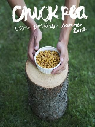 eek! The Summer issue of Chickpea Magazine is out! Vegan recipes everywhere!