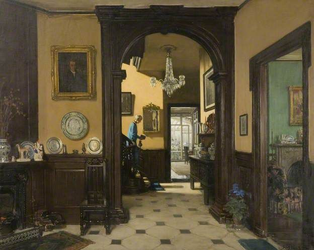 my house painted by fred elwell