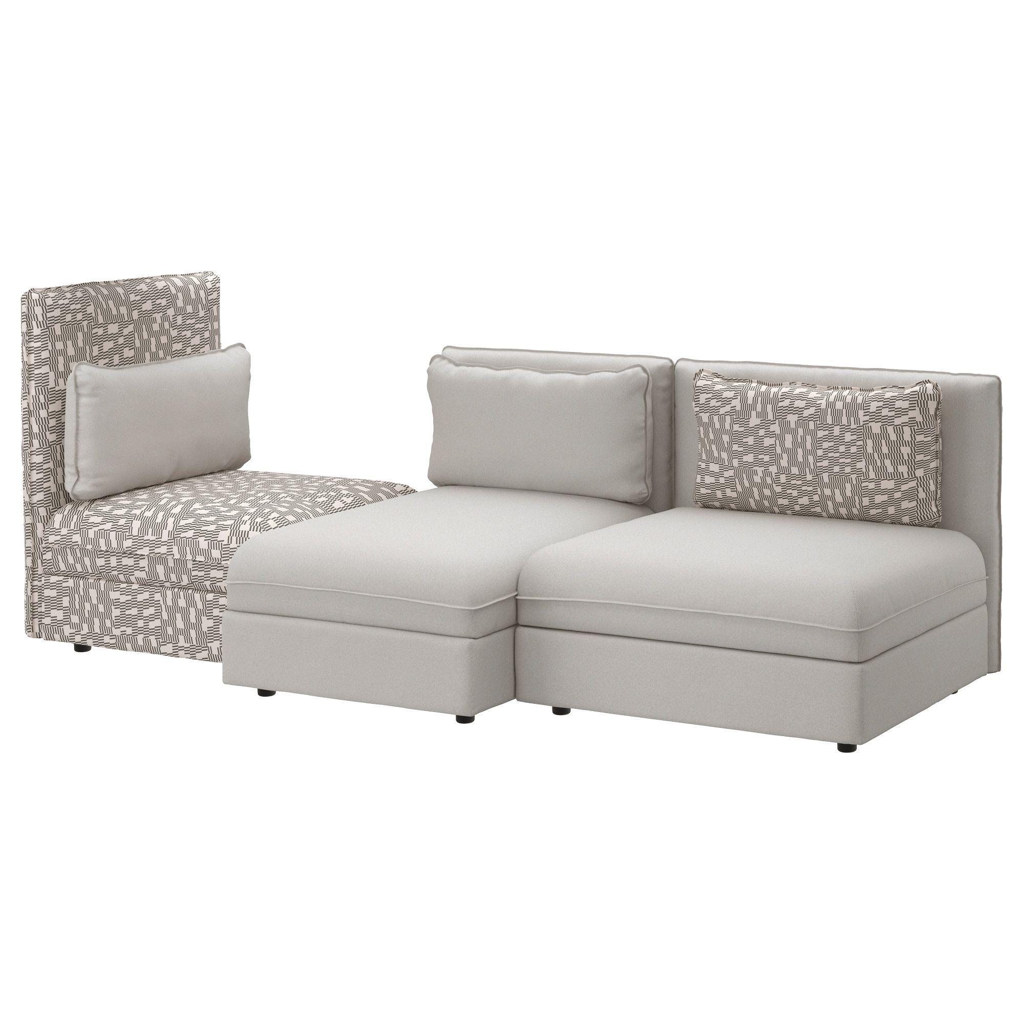 Vallentuna Fabric Sofas Ikea Fabric Sofa Modular Sectional Sofa Sectional Sofa