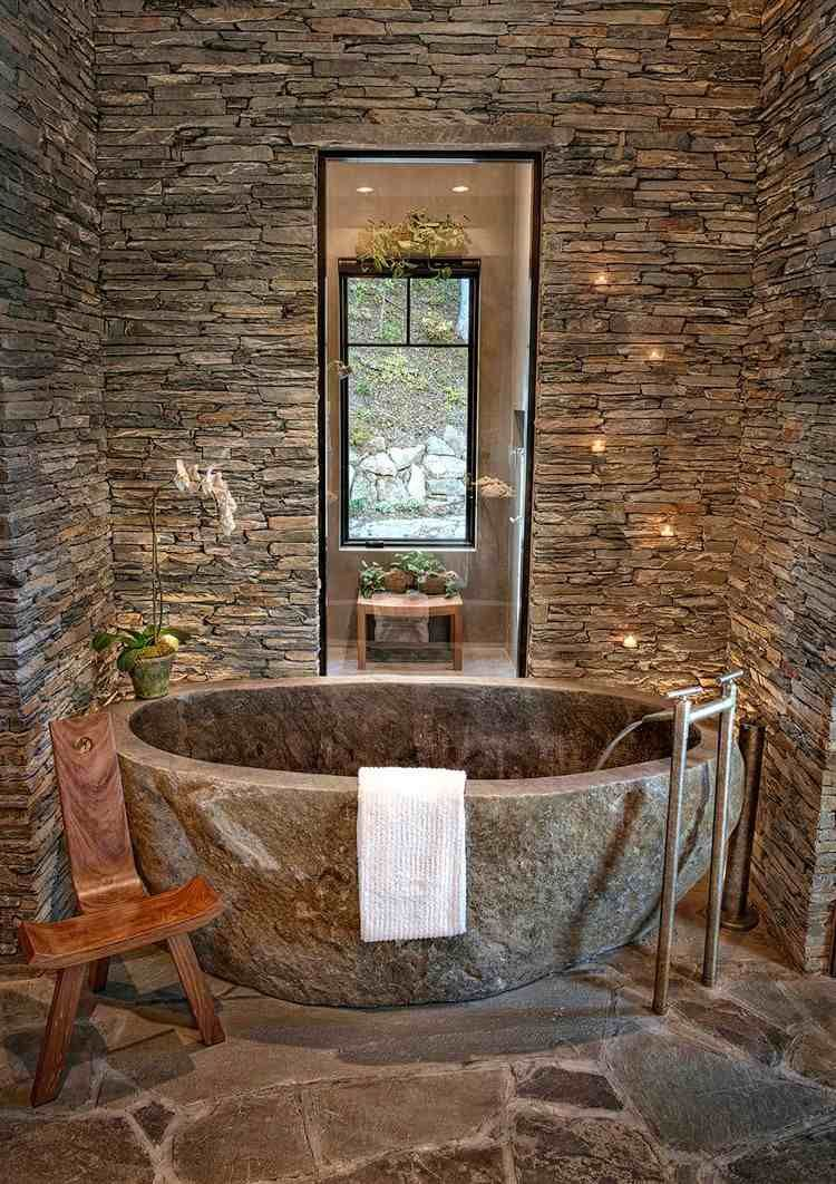47+ Salle de bain pierre parement trends