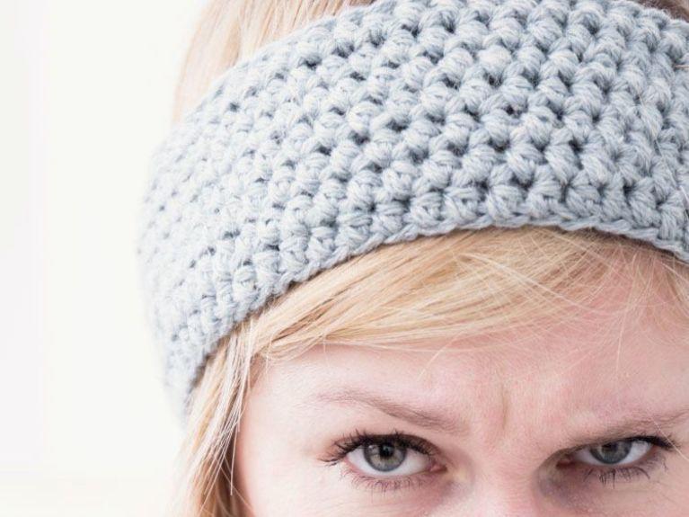 DIY-Anleitung: Stirnband aus Hanf-Garn häkeln via DaWanda.com ...