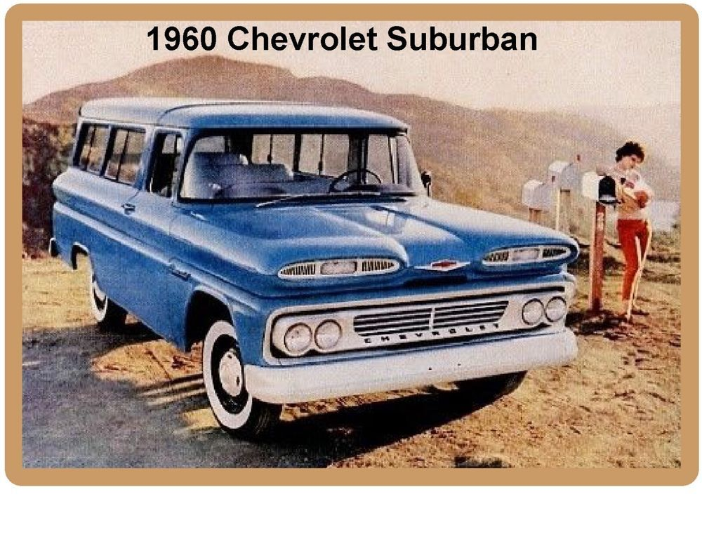 Details About 1960 Chevrolet Suburban Refrigerator Tool Box