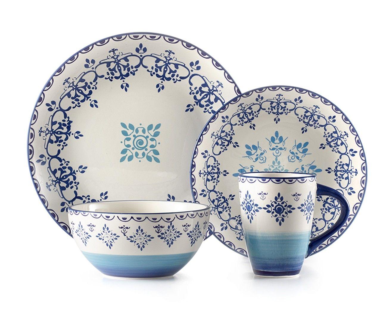 Kaleidoscope 16PC dinnerware - Dinnerware - Dining | Stokes Inc ...