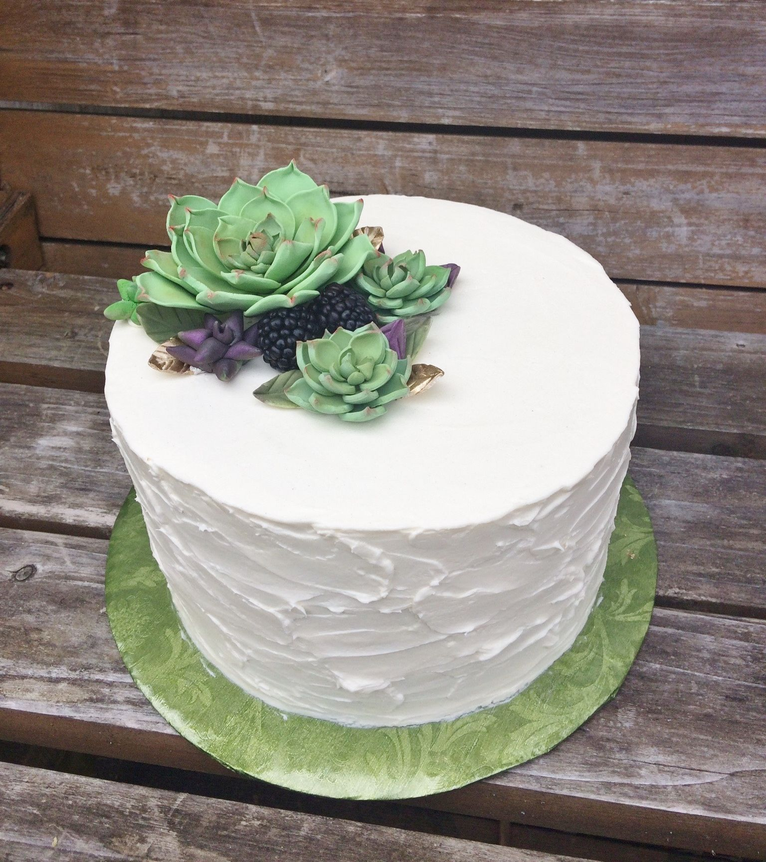 Beautiful Wedding Cakes By The Baking Grounds Bakery Café: Textured Buttercream