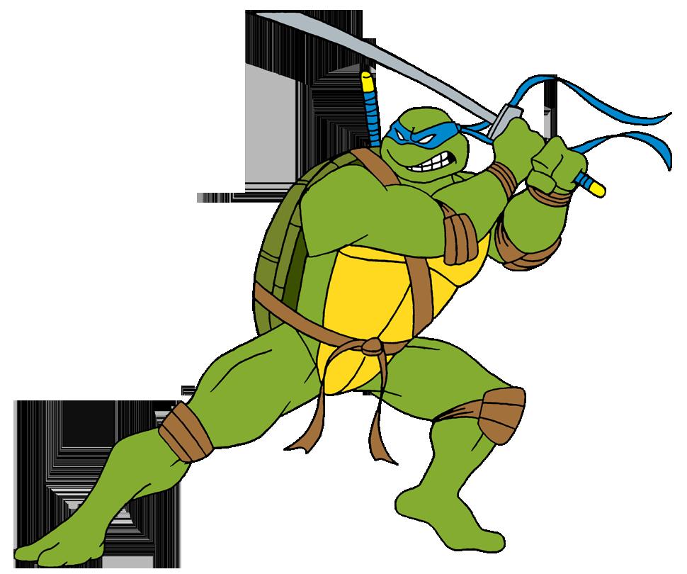 Ninja Tutle Leonardo Png Image Tmnt Artwork Cartoons Series Ninja