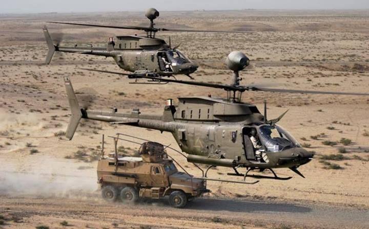 ARMY OH-58D Kiowa Warriors