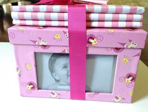 Keepsakes By Baby Gear 2 Pc Pink Frame Box and Album Set  #Baby_Gear #Baby_Product