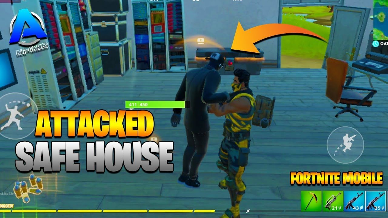 Shadow Henchmen Safe House Attacked Fortnite Battle Royale Gameplay Ali In 2020 Fortnite Fun Online Games Battle