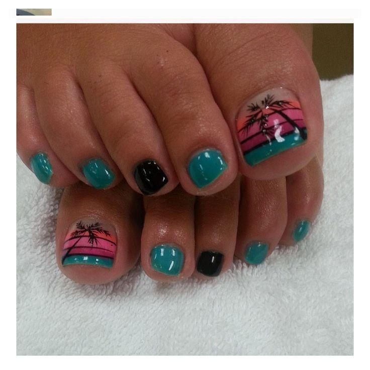 Nail Art Pedicure Pictures Google Search Pedicures Pinterest