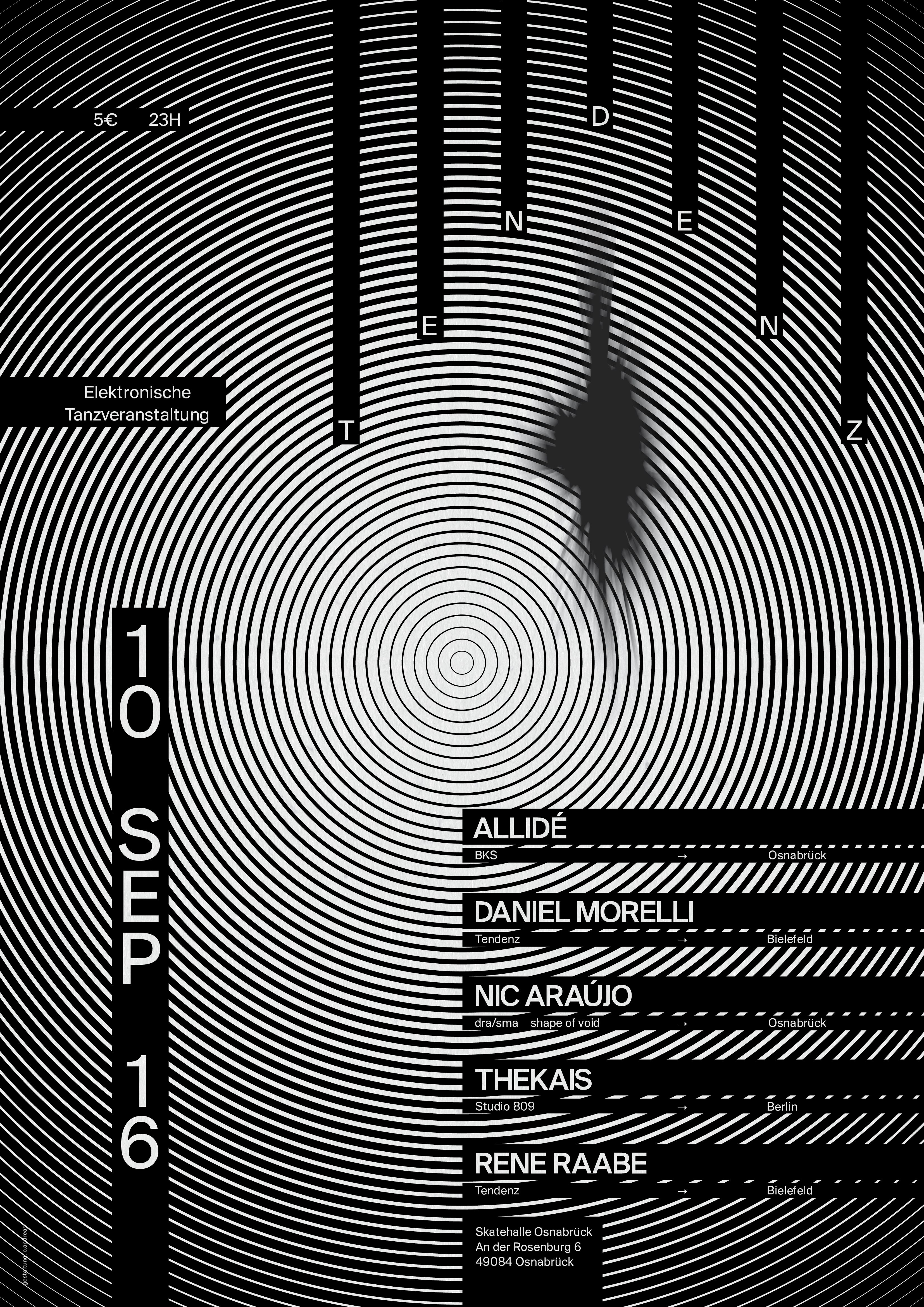 Poster for Tendenz Party No. 8