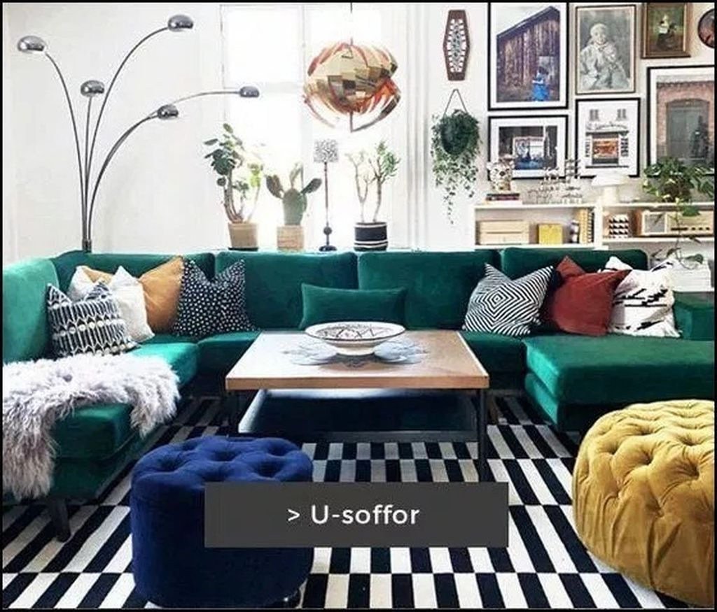 40++ Funky eclectic living room inspirations