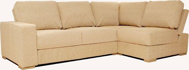 Alda Armless 3X2 Corner Sofa | Double sofa bed, Corner ...