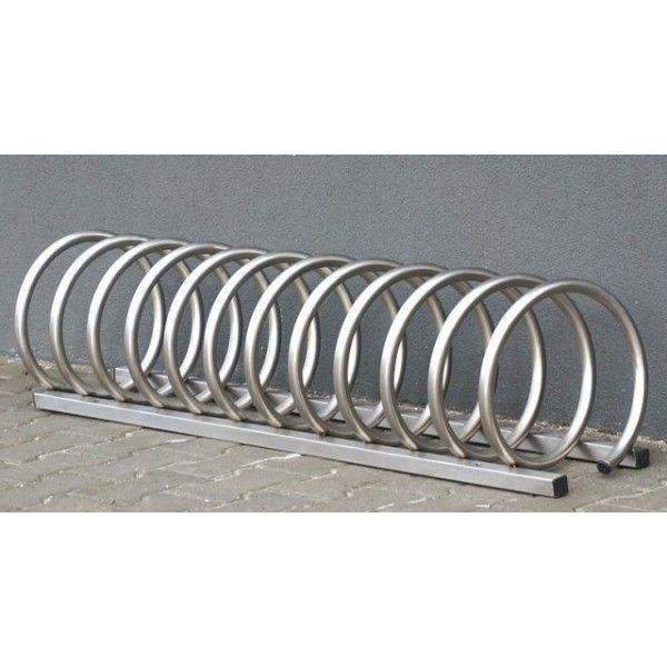Aparca bicicletas 12 plazas espiral acero inox. 1209vln3115 ...