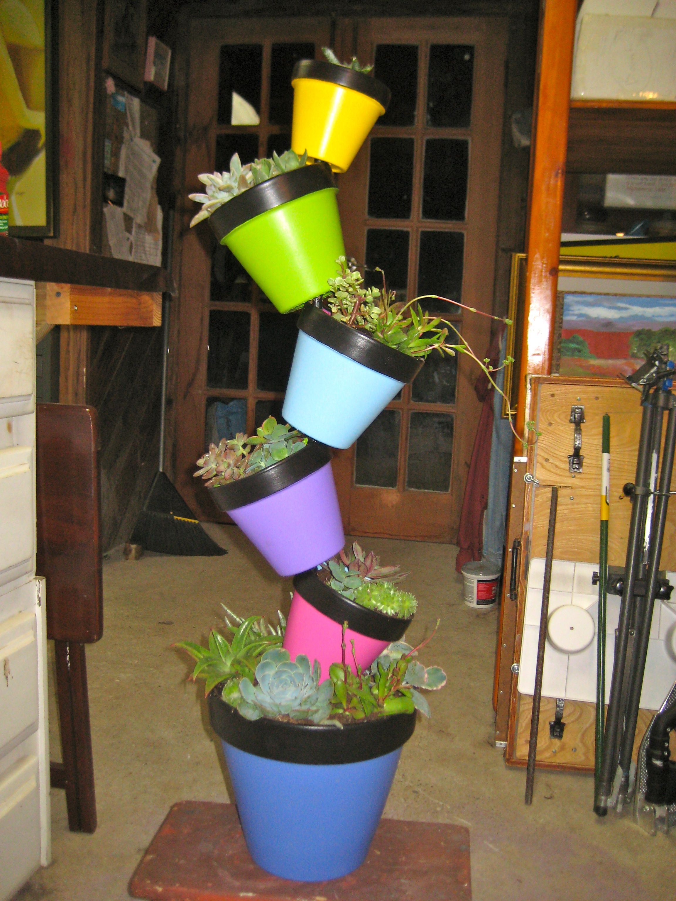 My Garden Art Project For My Horticulture Class A Portable