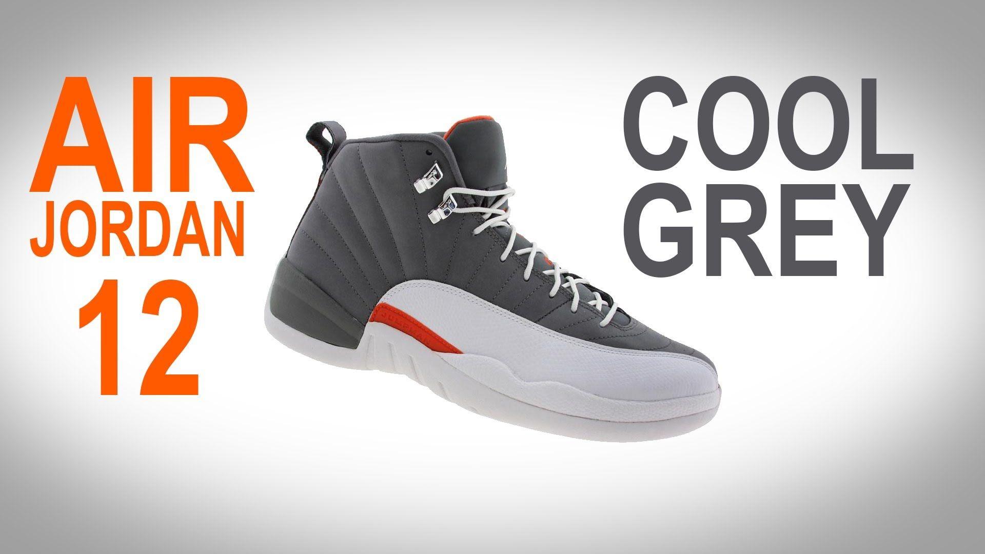 867e643b156 Nike Air Jordan 12 Xii Retro Cool Grey Team Orange | Mens Health Network