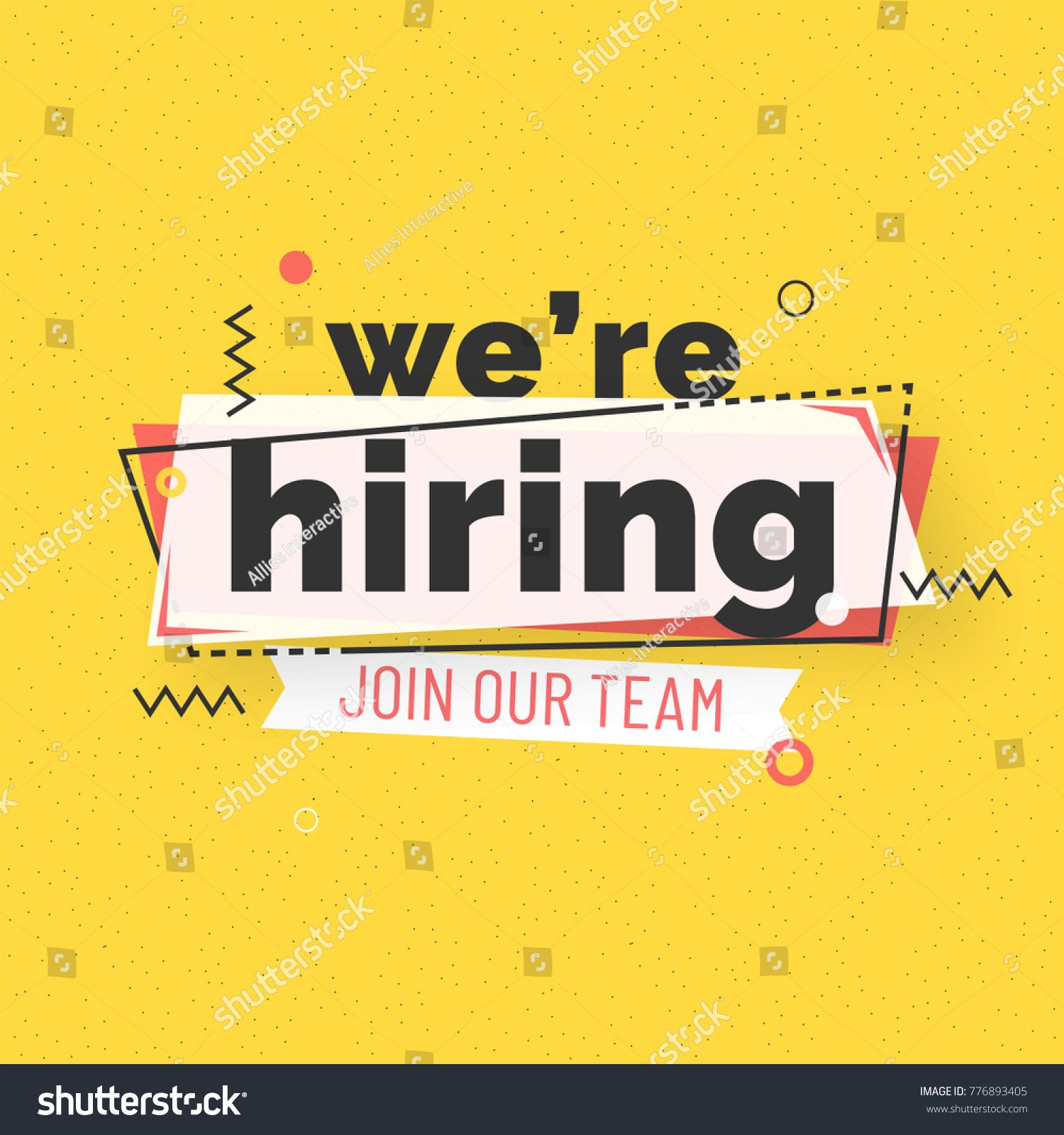 Awesome We Are Hiring Poster Or Banner Design Job Vacancy Home Interior And Landscaping Ologienasavecom