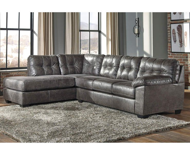 signature design by ashley fallston living room sectional at big lots