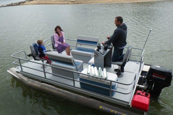 Pond King Elite Boat Pontoon Boat Small Pontoon Boats