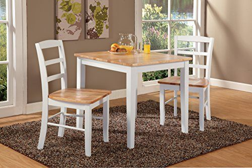 Awe Inspiring International Concepts 30 By 30Inch Dining Table With 2 Spiritservingveterans Wood Chair Design Ideas Spiritservingveteransorg