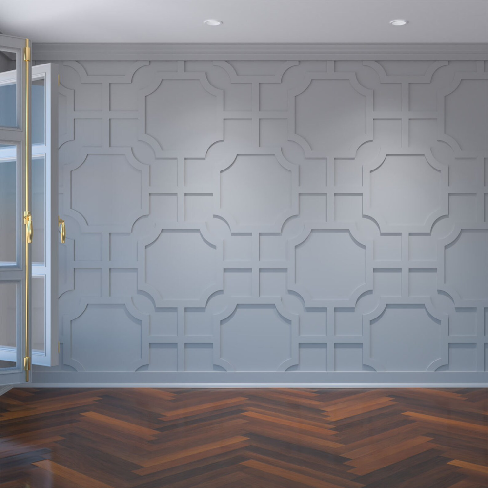 Large Bradley Decorative Fretwork Wall Panels In Architectural Etsy In 2020 Millwork Wall Wall Panels Wall Paneling