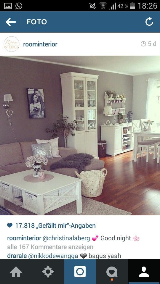 Wohnzimmermöbel Set in Weiß (7-teilig) - Gemütliche Landhausmöbel - landhausmöbel weiss wohnzimmer