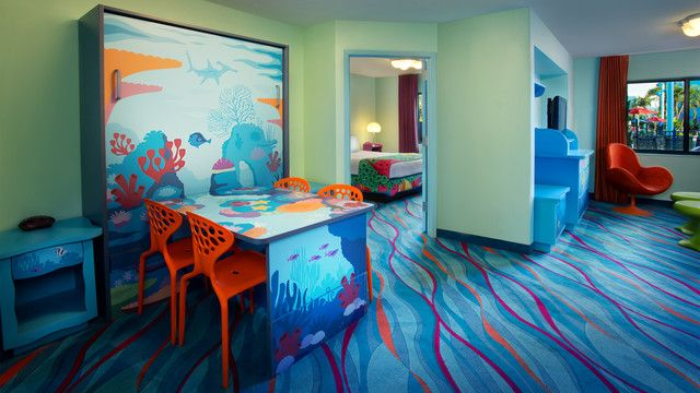 Art Of Animation Finding Nemo Family 1 Bedroom Suite An