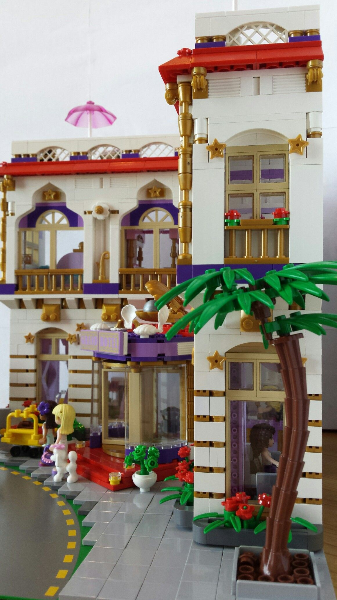 Lego Friends Hotel Grand Pearl Inspirered On Lego 41101 Lego Friends Sets Lego Friends Lego Hotel