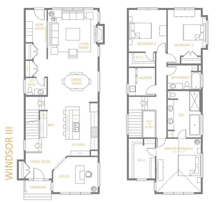 Accent Infills Edmonton S Infill Home Builder Small House Design Plans Narrow House Plans Home Builders
