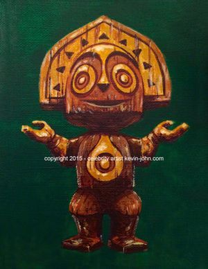 TIKI MAUI Limited Edition 50 Lithograph