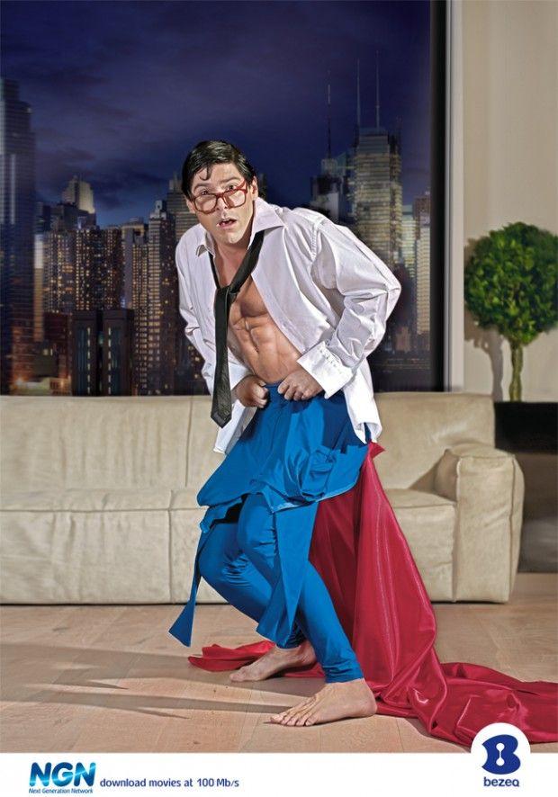 Bezeq: Superman