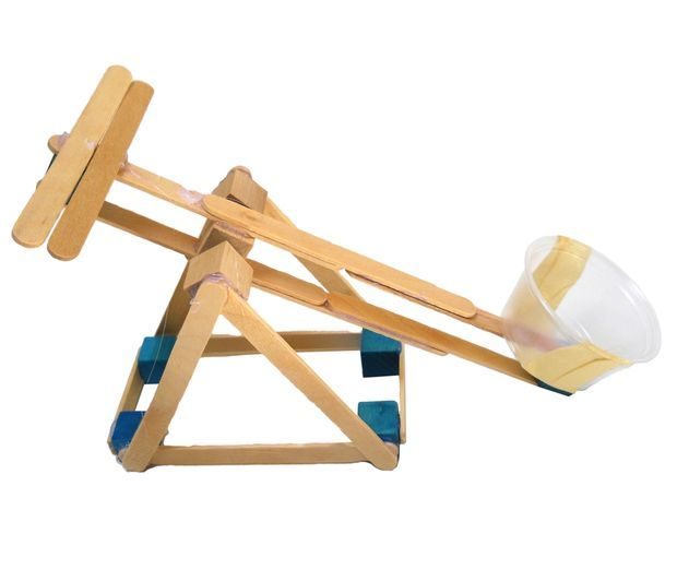 Mini Siege Engines Stem Projects Simple Machines and Motor Skills