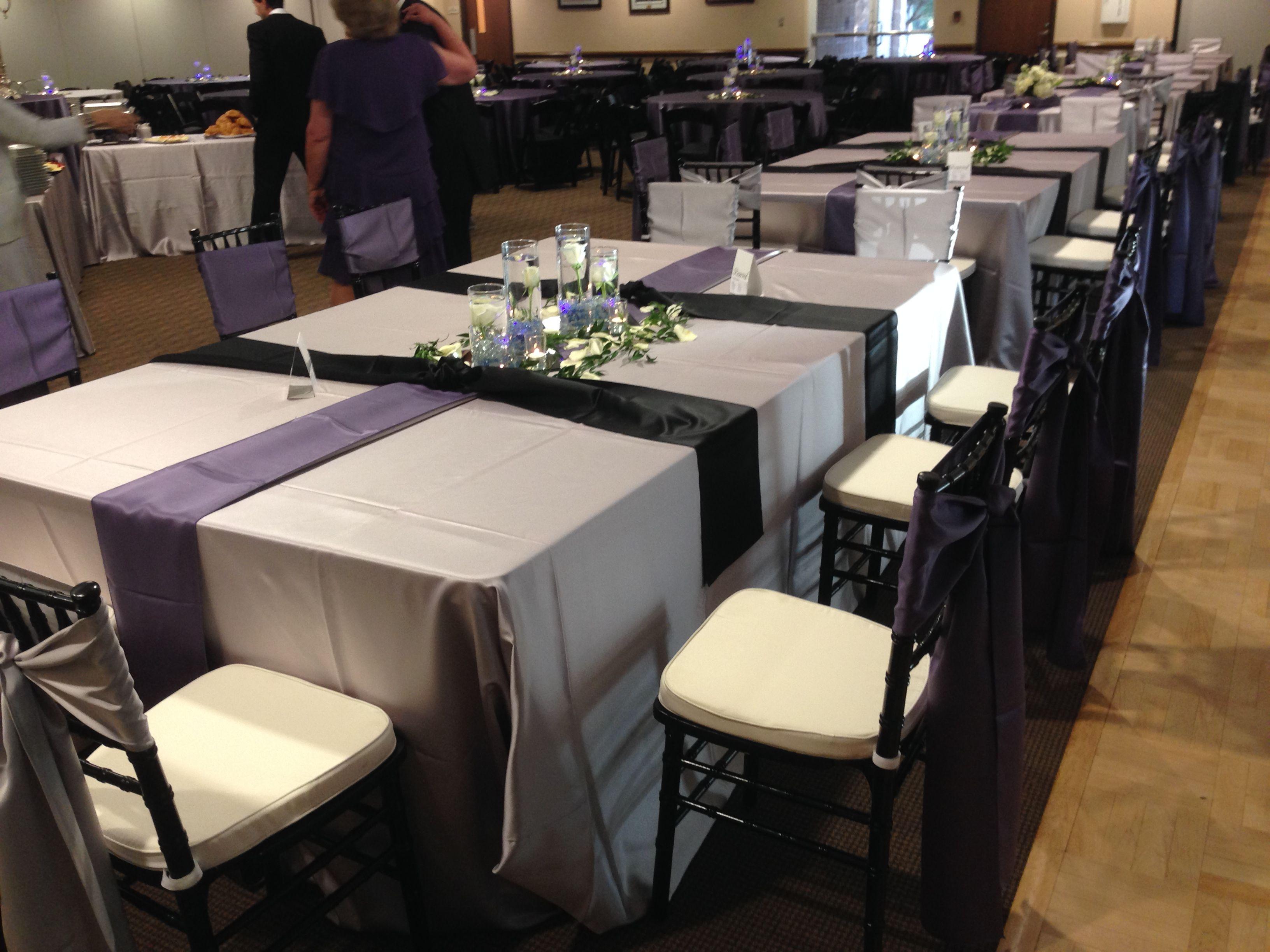 Atlanta Rental Wedding Reception Chiavari Chair Table Linen