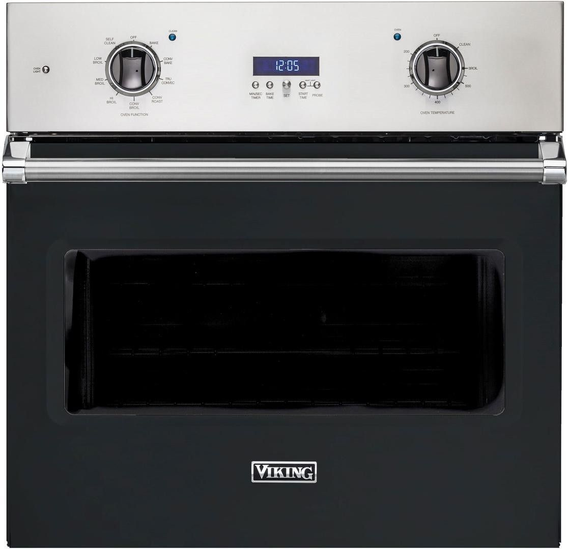 Viking 5 Series Vsoe130bk Single Electric Oven Single Wall Oven Electric Oven