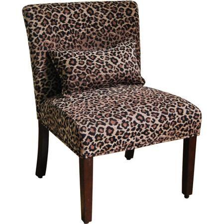Best Slipper Chair Leopard Print Walmart Com Printed 640 x 480