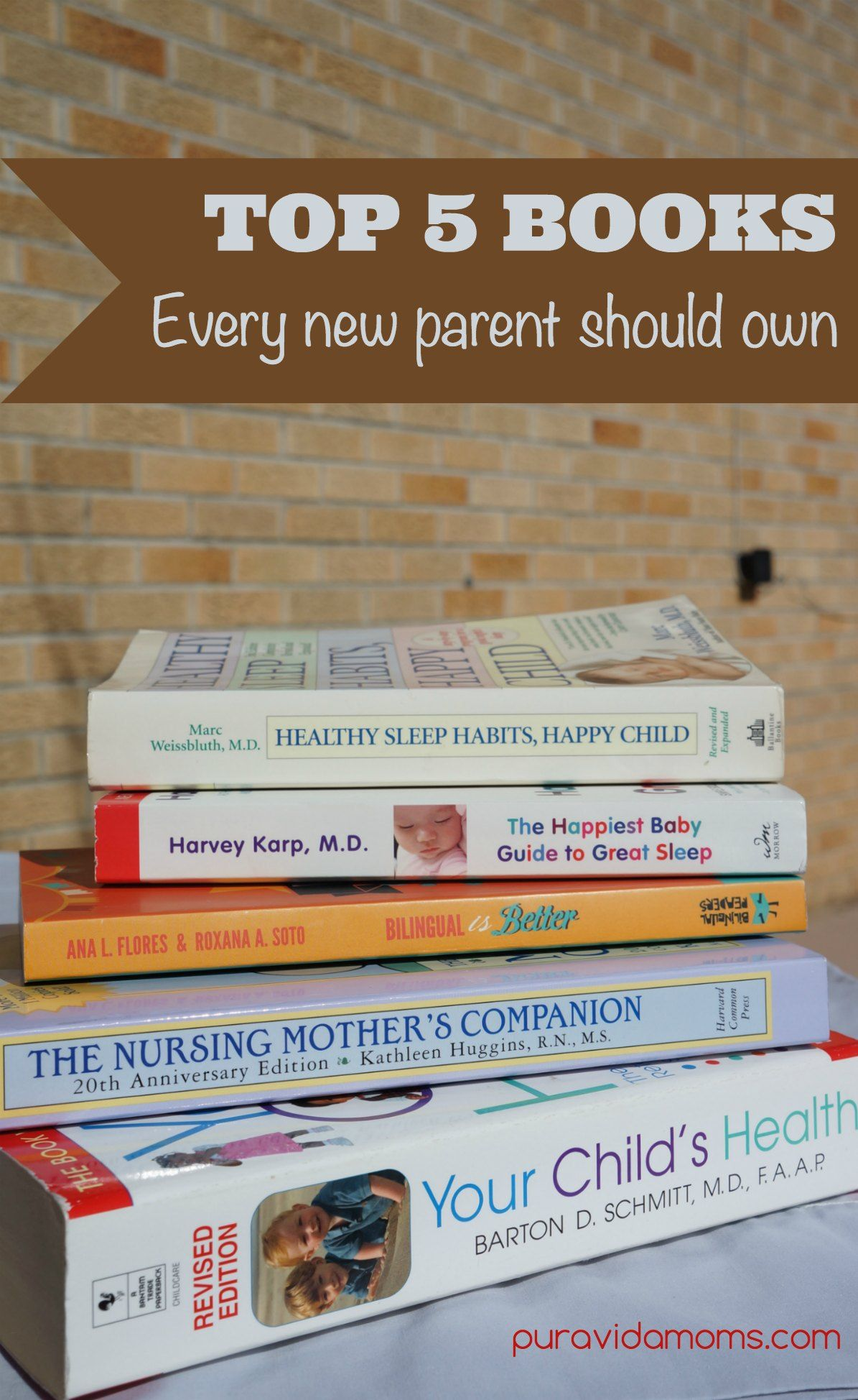 Top 5 Books Every New Parent Should Own