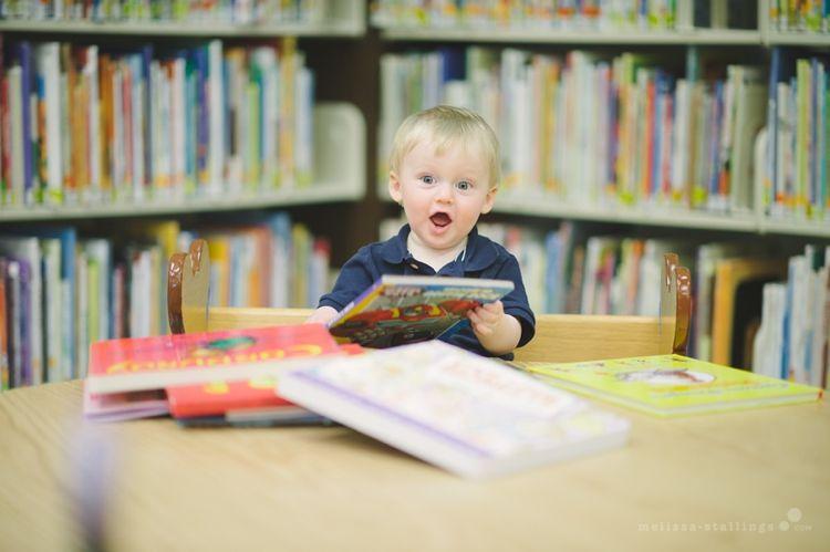 Library photo shoot... Cute!