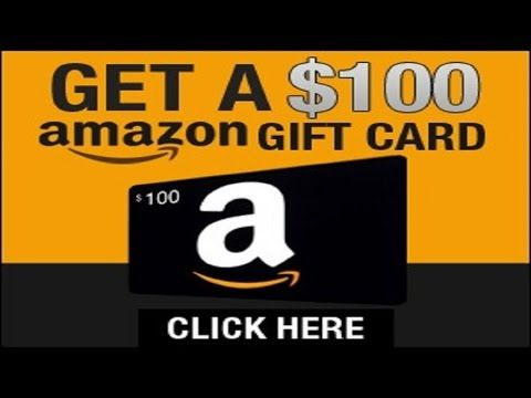 Free 100 Amazon Gift Cards Codes 2017 Amazon Gift Card Free