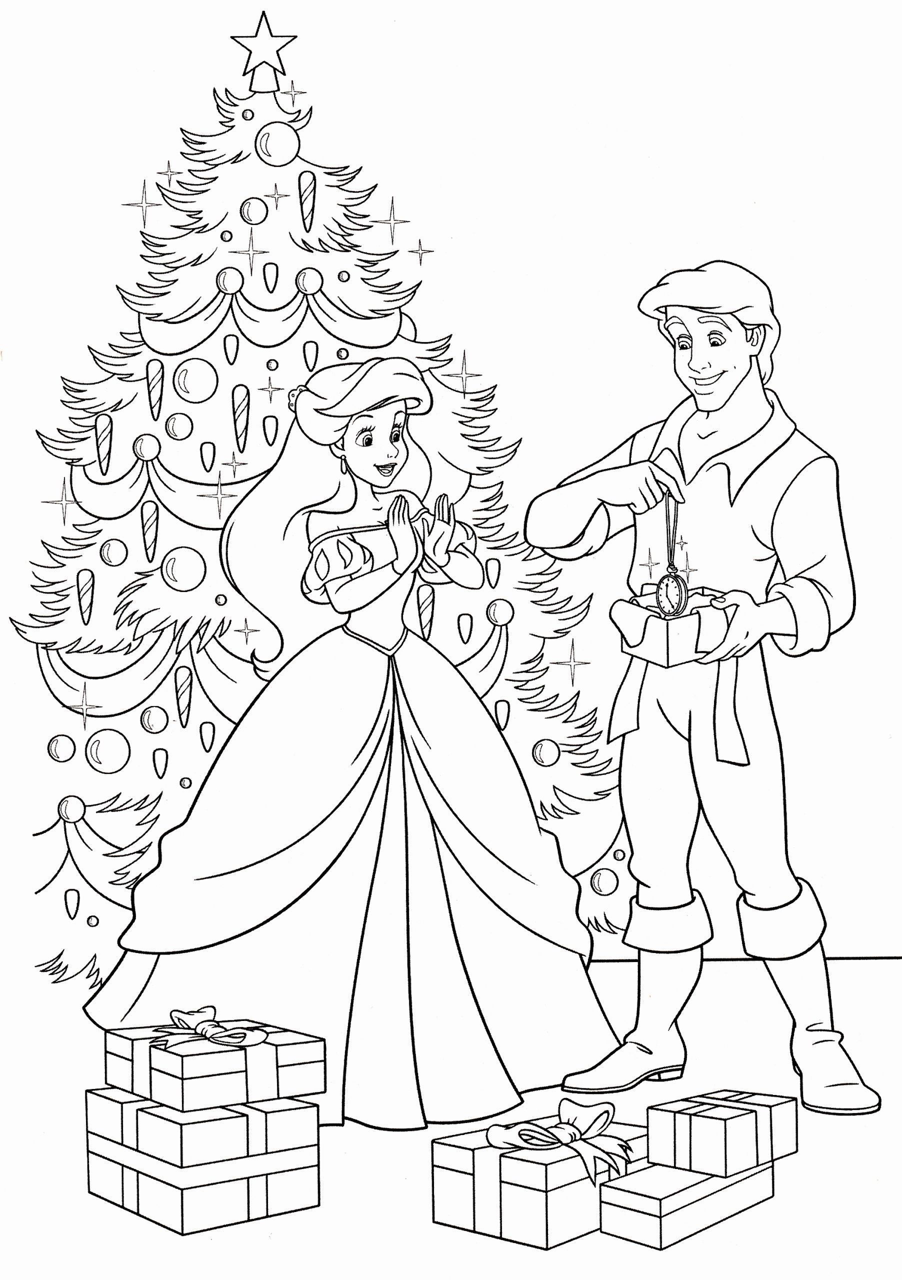 Walt Disney Christmas Coloring Pages Lovely Walt Disney Coloring Pages Princess A Mermaid Coloring Pages Disney Princess Coloring Pages Princess Coloring Pages