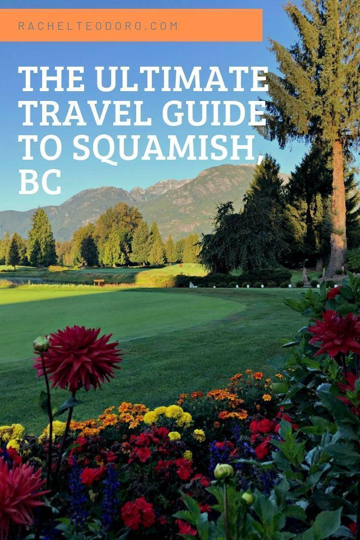 Squamish BC Canada Travel