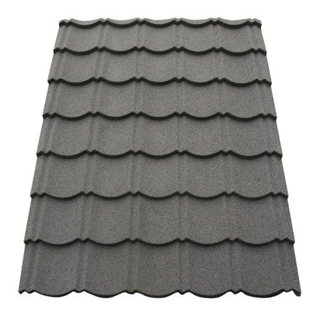 Corotile Lightweight Metal Roofing Sheet Charcoal 1140mm X 860mm Sheet Metal Roofing Roofing Sheets Metal Roof