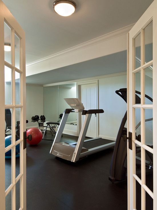 Home Gym Basement Built In Design, Pictures, Remodel, Decor And Ideas   Page