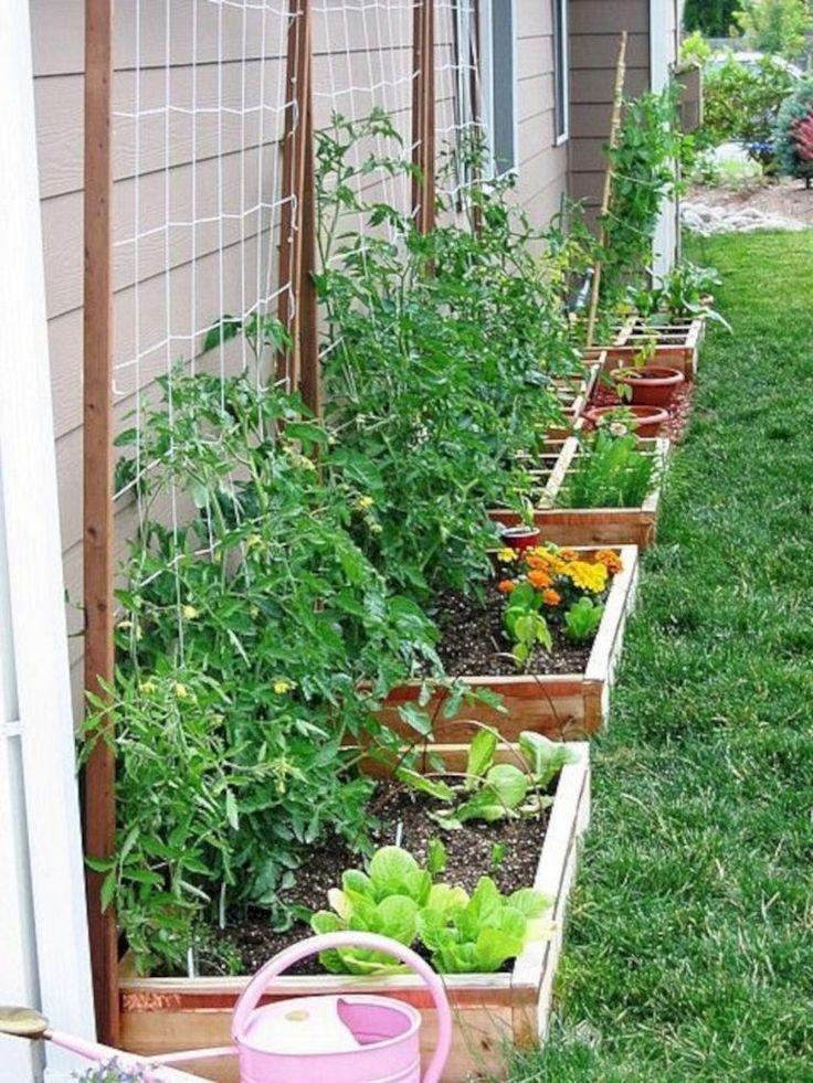 30+ Schöne kleine Gartengestaltung für kleine Gartenideen #smallgardenideas