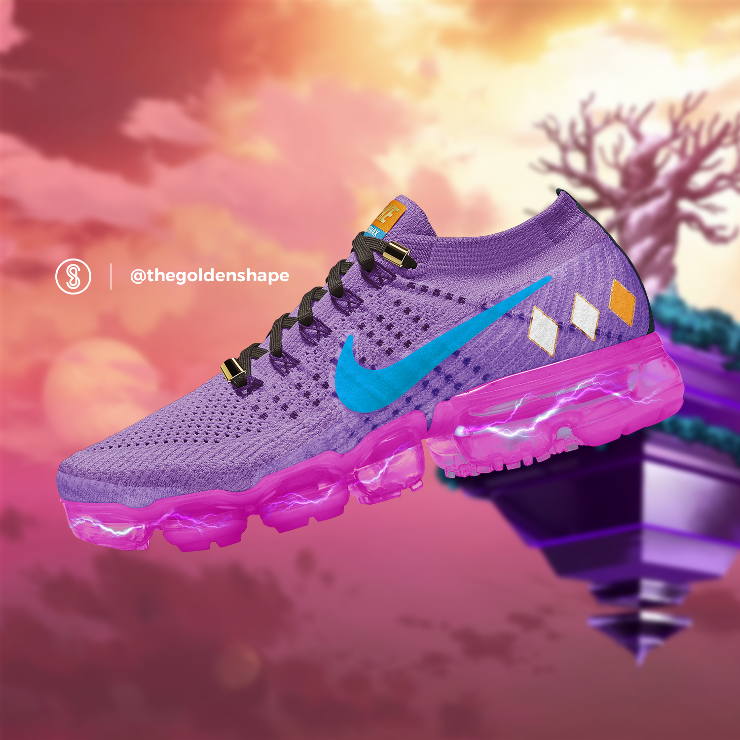 Nike x Dragon Ball Super VaporMax Beerus | Chaussures nike